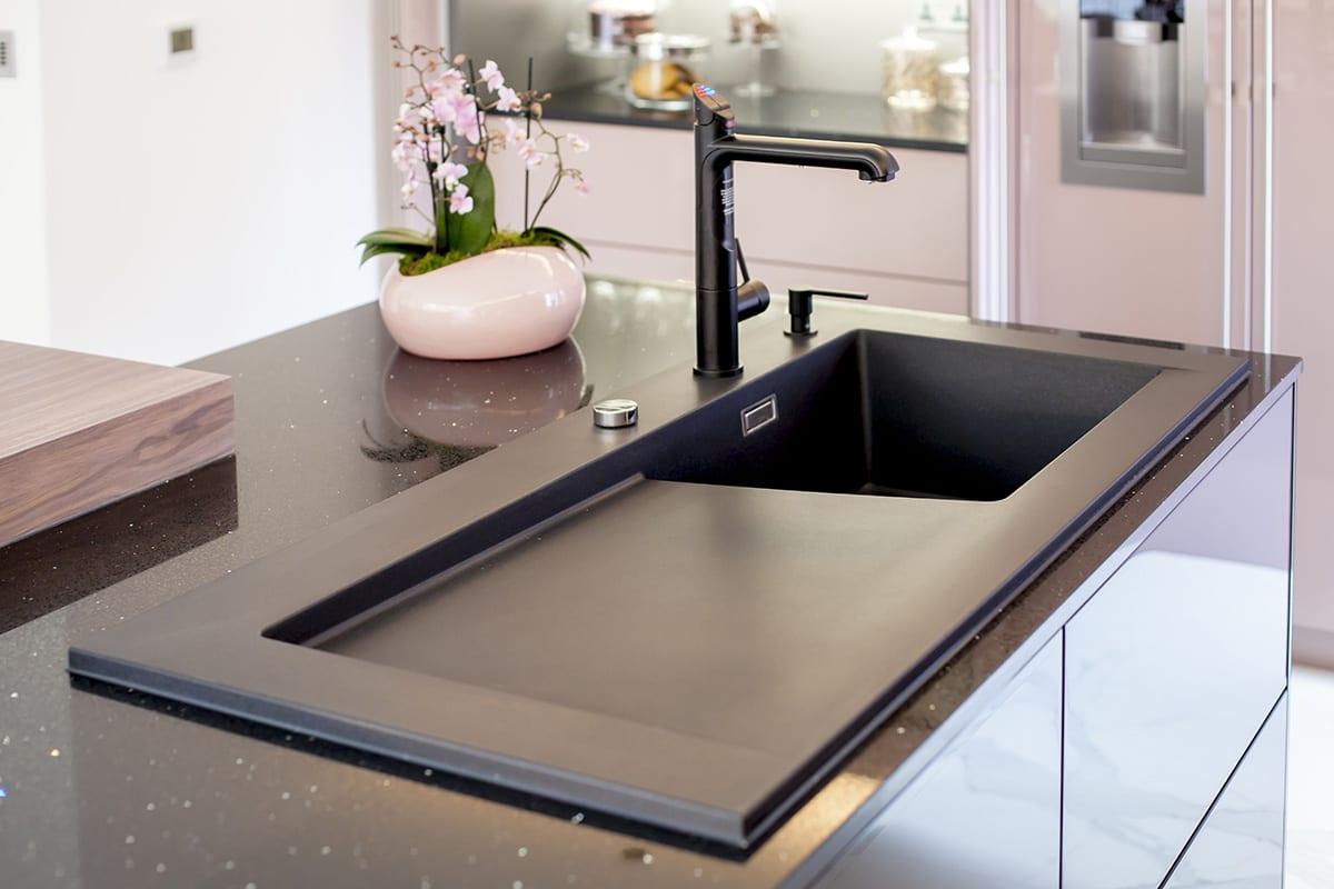 Zip Tap Blanco Silgranit sink Soap Dispenser   Classique Kitchens, Carlisle